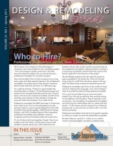 1st Quarter Newsletter 2011 for BRHI