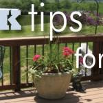 Quick Tips: Spring Chores