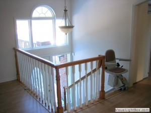 Stair Lift Addition