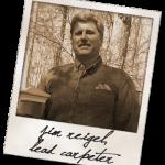 Carpenter's Corner: Jim Reigel