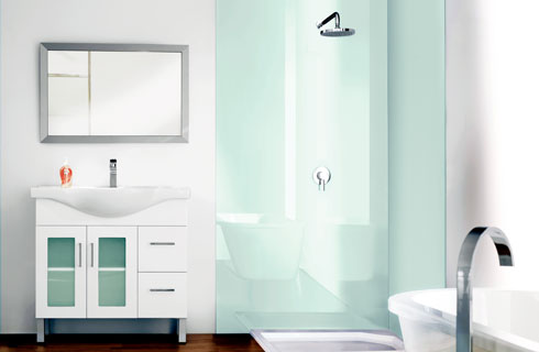 Project Files: Alternatives to Solid Surface Shower Walls | Blue ...