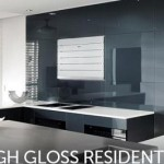Lustrolite high gloss wall panels