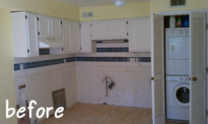 BEFORE: Pull-and-Put Kitchen Remodel