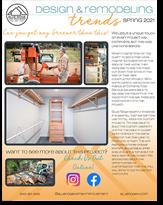 Blue Ridge Home Improvement Newsletter Spring 2021