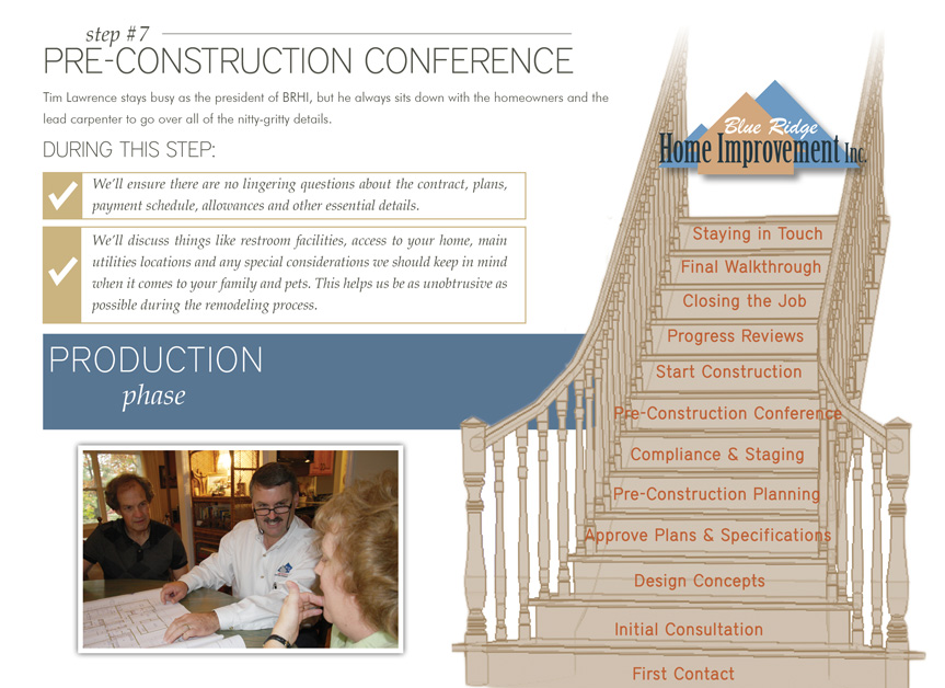 Step 7: Pre-Construction Conference