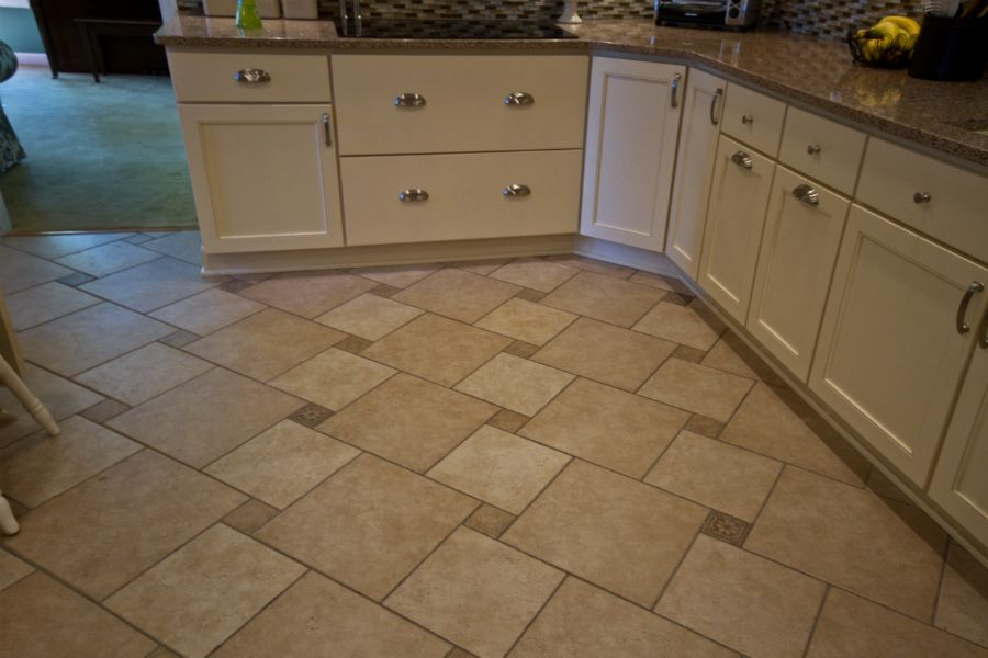 Custom Tile Floor